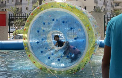 חי פארק- גלגל מים