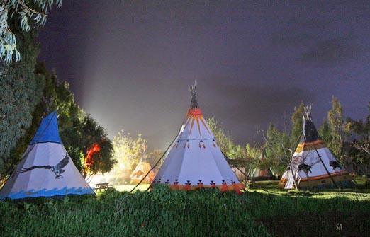 הכפר האינדיאני - ערב