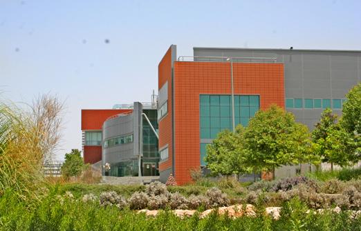 מרכז מבקרים נאות חובב - מרכז המבקרים מבחוץ