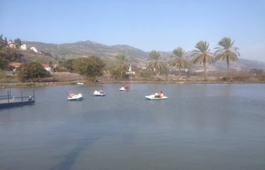 דג בכפר - פארק דייג וקמפינג - סירות פדלים