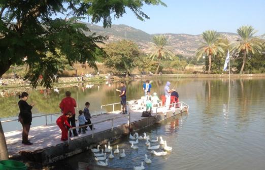דג בכפר - פארק דייג וקמפינג - במזח
