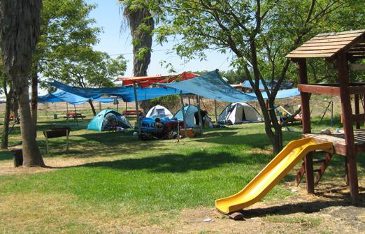 דג בכפר - פארק דייג וקמפינג - מתקנים לילדים