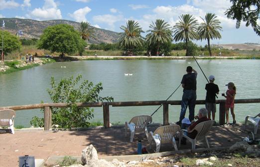 דג בכפר - פארק דייג וקמפינג -  נוף