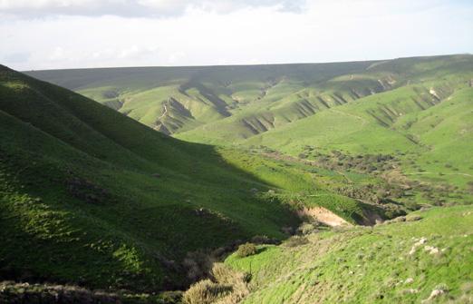 נוף לגלבוע - הנוף והסביבה