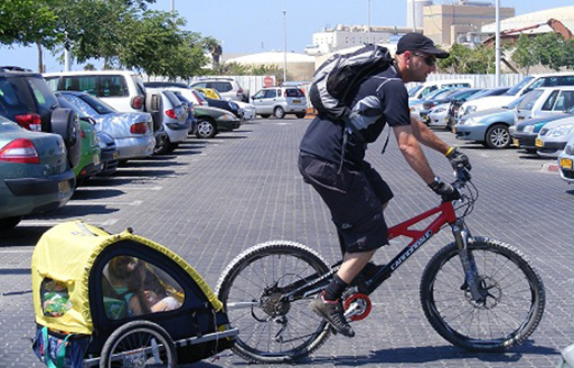 SMART TOUR - אופניים עם נגרר