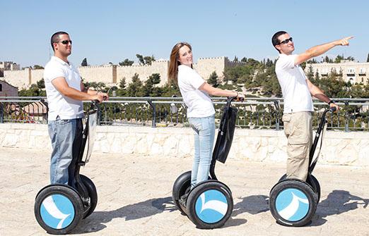 SMART TOUR - סגווי ירושלים
