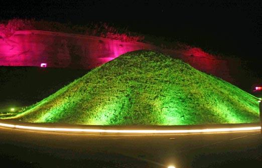 הפארק הוולקני - חזיון אורות ופעילות לילית
