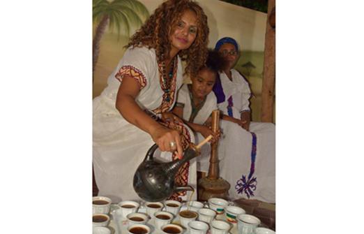 החוויה האתיופית - טקס הקפה המסורתי