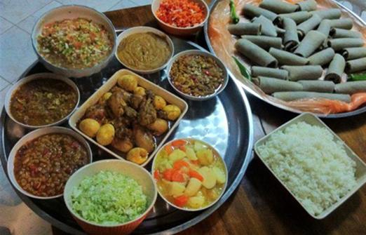 החוויה האתיופית - מאכלים מן העדה האתיופית