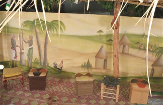 החוויה האתיופית - מרכז מבקרים בבית שאן
