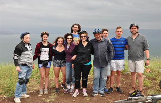 פייס-בייק טיולי אופניים- טיול משפחות
