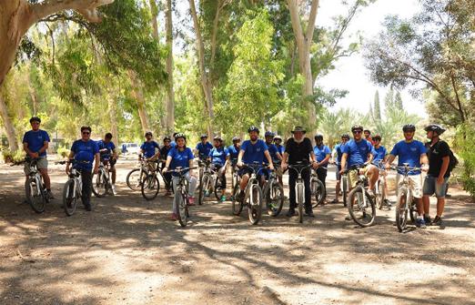 פייס-בייק טיולי אופניים- קבוצה