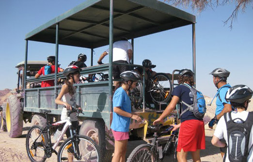 תל תמרים חדרי אירוח - קיבוץ יהל - טיולי אופניים