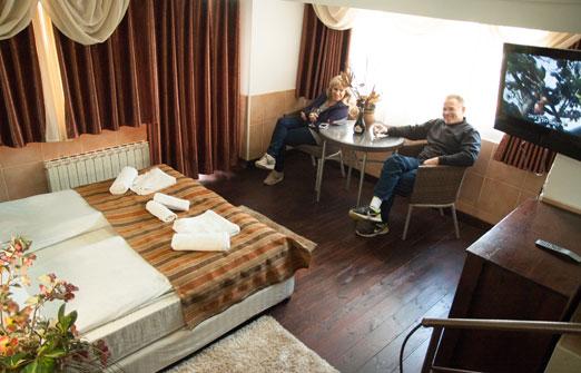 מלון אלסקה אין - זוג נהדר