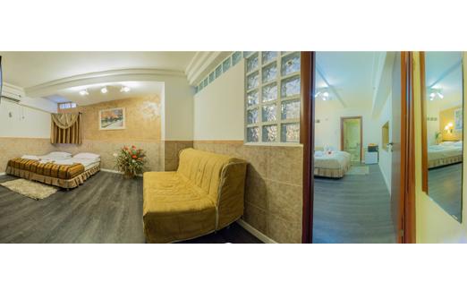 מלון אלסקה אין- מיני סוויטה עם ג'קוזי