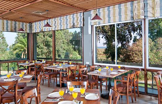 מלון נוף גינוסר- חדר האוכל