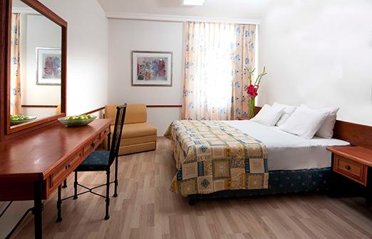 מלון נוף גינוסר- החדר