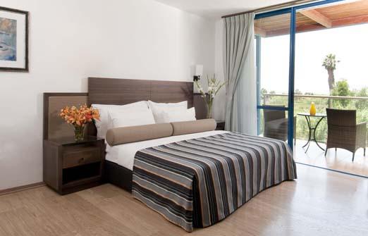 מלון נוף גינוסר - חדרי המלון