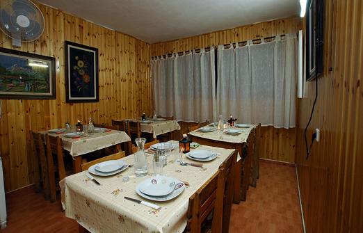 אירוח נוף רעות- חדר האוכל