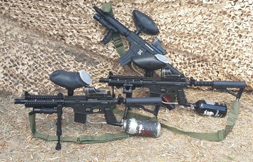 אטרקציות חוות פיליפ -אקדח  פיינטבול