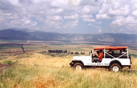 איילת השחר טיולי ג'יפים - טיולים בגליל, בגולן וברחבי הצפון