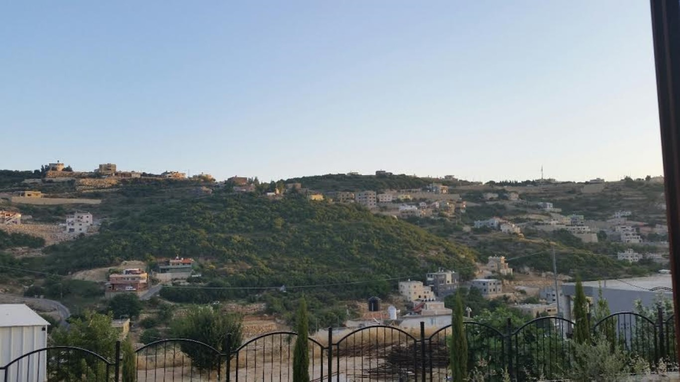 סמי המארח - הנוף מהחצר