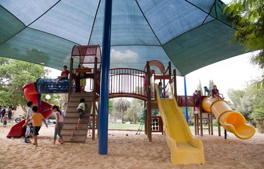 כפר נופש משאבים בקיבוץ משאבי שדה - מתקני שעשועים לילדים