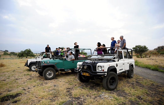תיירות מרום גולן- צימרים - טרקטורונים