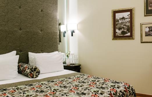 הגושרים מלון בטבע - חדרי המלון - סלון הסוויטה