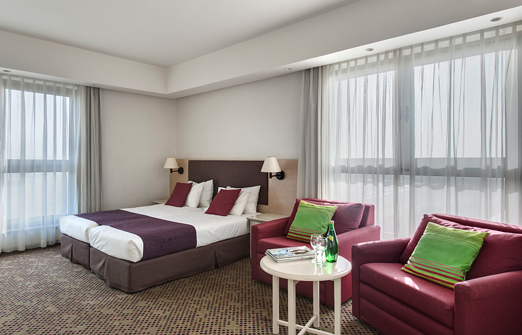 מלון רמת רחל - חדר זוגי