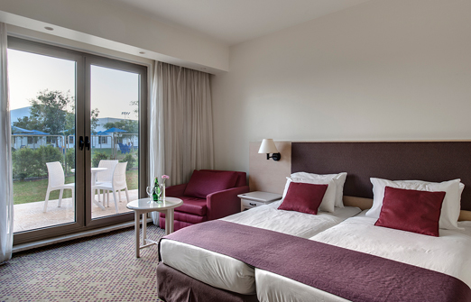 מלון רמת רחל - חדר שינה