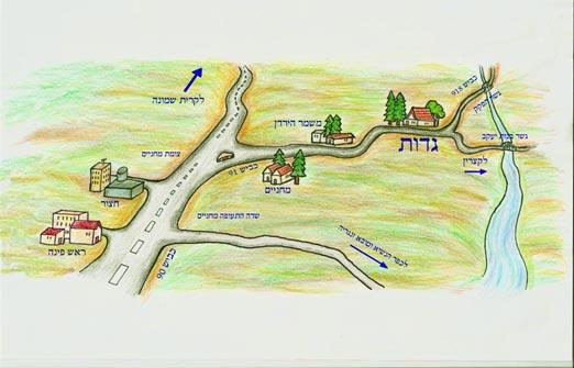 צימרים קיבוץ גדות - אירוח כפרי
